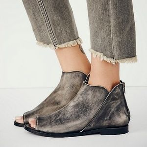 Free People Falcon Flat Ankle Boot Bootie